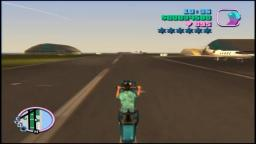 Grand Theft Auto: Vice City - Wheelie - PS2 Gameplay
