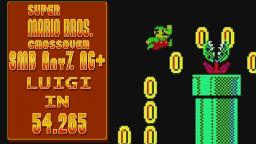 SMB.C SMB Any% NG+ Luigi in 54.265
