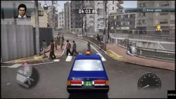 Yakuza 5 - Taxi Driving - PS4 Gameplay