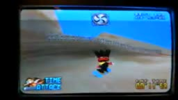 snowboard kids 64 quicksand level.wmv