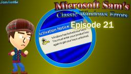 Microsoft Sams Classic Windows Errors (Episode 21)