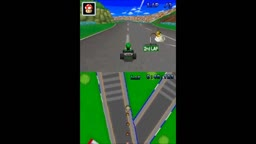 Mario Kart DS N64 Circuit New Luigi Circuit Model with Texture Animations and Vertex Colors
