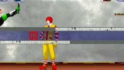 Amflosh Mugen: Jesse VS Ronald Mcdonald