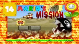 Lets Play Marios Mission [SMW-Hack] Part 14 - Wüste, Kettenhunde und aggresive Sonnen