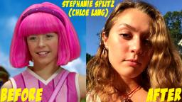 Lazy Town Before and After 2018
