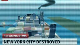 New York City destroyed