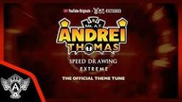 The Official Theme Tune | Mr. A.T. Andrei Thomas Speed Drawing EXTREME