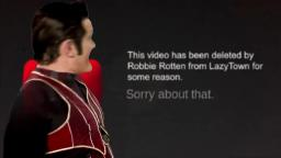 Robbie Rotten Deleting Miles From Tomorrowland
