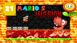 Lets Play Marios Mission [SMW-Hack] Part 21 - Die heiße Blargge