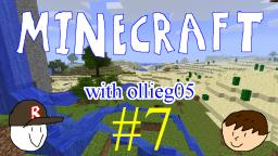 Minecraft with ollieg05 #7: Went in the pool with my minecraft diamond sword