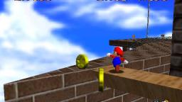 Mario 64 - Chip off whomps block