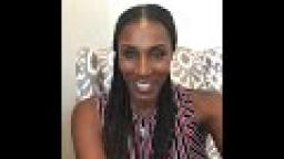 WNBA super star LISA LESLIE celebrates a huge win with COSTA RICAS CALL CENTER.