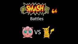 Super Smash Bros 64 Battles #146: Jigglypuff vs Pikachu