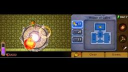 Zelda: A Link Between Worlds - Eye Boss - 3DS Gameplay