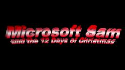 Microsoft Sam and the 12 Days of Christmas (Verse 1)