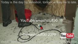 smash brand new Shop Vac vacuum