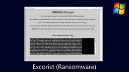 Exorcist (Ransomware)