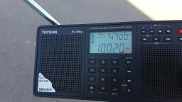 FM radio tropo DX towns own station dream 100.2 wiped out by other station on 100.1 LOL