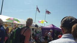 At Clacton On Sea Essex Air Show day 2 highlights 2019 walking in the stands