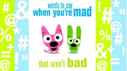 words to say when youre mad that arent bad