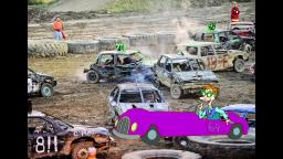 Drew Pickles Goes To a Demolition Derby