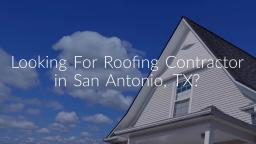 Integrity Roofing & Siding San Antonio TX - Roofing Contractor