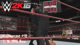 WWE 2K16 2K Showcase #12 - Undertakers Shovel - 11-16-1998 Raw