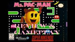 Ms. Pac-Man (Super Nintendo) Review And Gameplay (On My Other Channel)