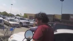 Road Rage Incident at Walmart Starts Fist Fight