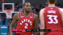 Hornets vs Raptors Apr. 5 2019