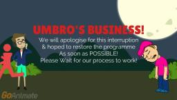 Umbros Power Failure, (By: Dylan Musto)!