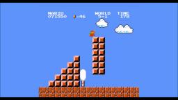 Me Playing Super Mario Bros