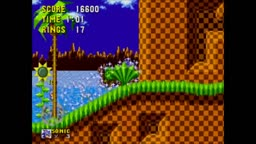 Sonic The Hedgehog: Green Hill Zone Playthrough
