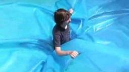 Dennis Stuck In Pool Cover