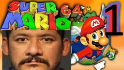 Lets Play Super Mario 64 Episode 1/I FIRED AND I MISSED/ Jweff Gaming