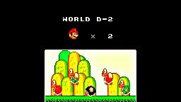 SUPER MARIO ALL STARS THE LOST LEVELS! { WORLD D-1 D-2 }
