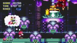 Knuckles Boss Fight in Sonic Mania