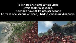 Crysis - 10,000 barrels explosion