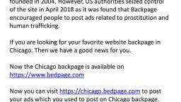 Backpage Chicago
