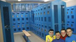 THE WIGGLES GO TO A HIGH SCHOOL BOYS LOCKERROOM
