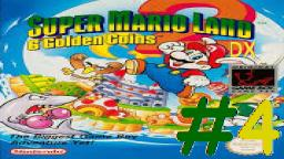 Let´s Play Super Mario Land 2 SgC DX (Deutsch)  - Teil 4 Spielspaß in der Mario-Zone!