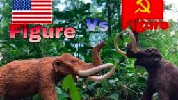 Figure Vs Figure Episode 5- Safari American Mastodon vs Safari Russian Mammoth