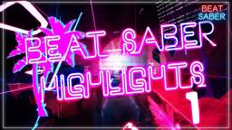 Vapor Wave Maps are Cool || Beat Saber Highlights 1