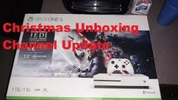 Christmas Unboxing|Star Wars Jedi Fallen Order Bundle|Xbox One S|Channel Update