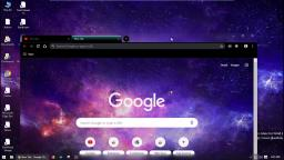 Chrome Dark Mode with Aero Glass Effect (Customized)