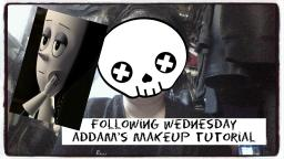 Following Wednesday Addams Makeup Tutorial
