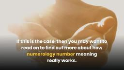 What is Numerology and How it Works