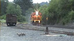 Portland & Western Railroad In Action