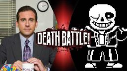 Michael Scott VS Sans!!! (DEATH BATTLE)
