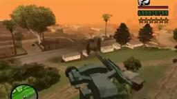 Metal Gear REX in GTA San Andreas